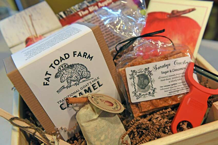 A Kelly Pugliano Roost Crate for September at her home on Thursday Aug. 25, 2016 in Waterford, N.Y. (Michael P. Farrell/Times Union)