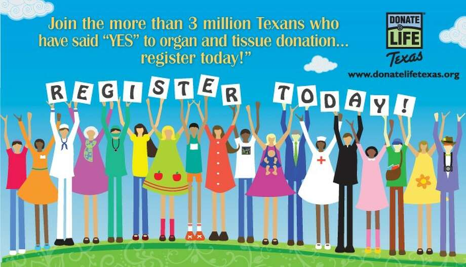 Donate Life Texas, the state team of organ and tissue donation professionals celebrates April as the 10th annual National Donate Life Month.