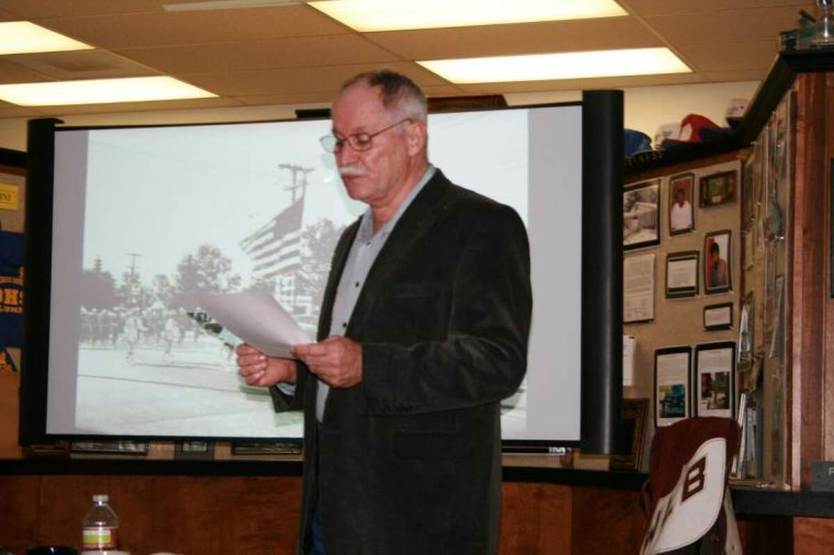 Longtime Cleveland resident and business owner, Ronnie Danner, spoke about the history of Cleveland Dairy Day at the March 28 meeting of the Cleveland Historical Society.