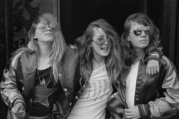 Nacio Jan Brown shot the street scene on the 2400 block of Telegraph Avenue, Berkeley, from 1969 to 1973