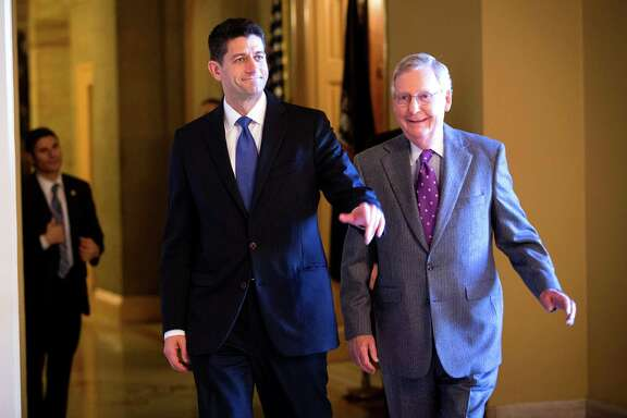 "Under the leadership of House Speaker Paul Ryan and Senate Majority Leader Mitch McConnell, Congress is set to have done virtually nothing this term. This was the year they said things would be different. They can't even pass a budget under ""regular order."""