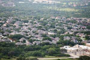 Aerial view of the Stone Oak area Friday May 20, 2016.