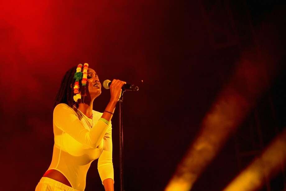 Singer Kelela at FYF Fest 2016. Photo: Matt Winkelmeyer, Getty Images For FYF