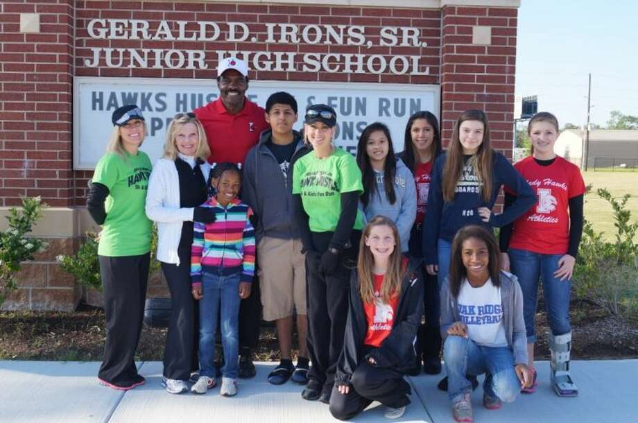 gerald  irons junior high hosts inaugural  fun run houston chronicle