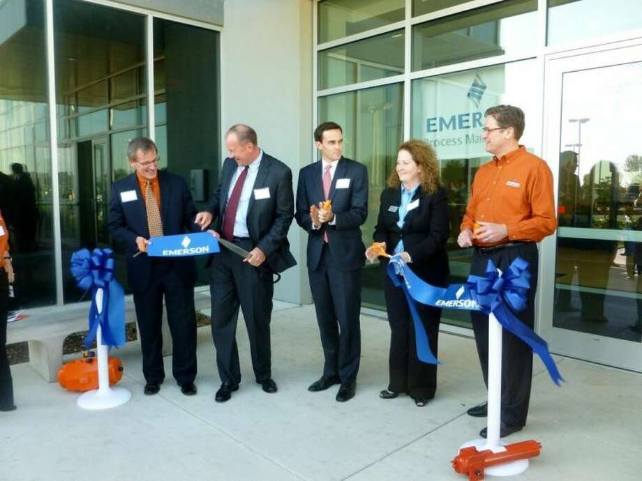 Emerson opens a new $30 million facility, located off Highway 290 near FM 1960, that will serve as Emerson Process Management's Americas headquarters for valve automation technologies.