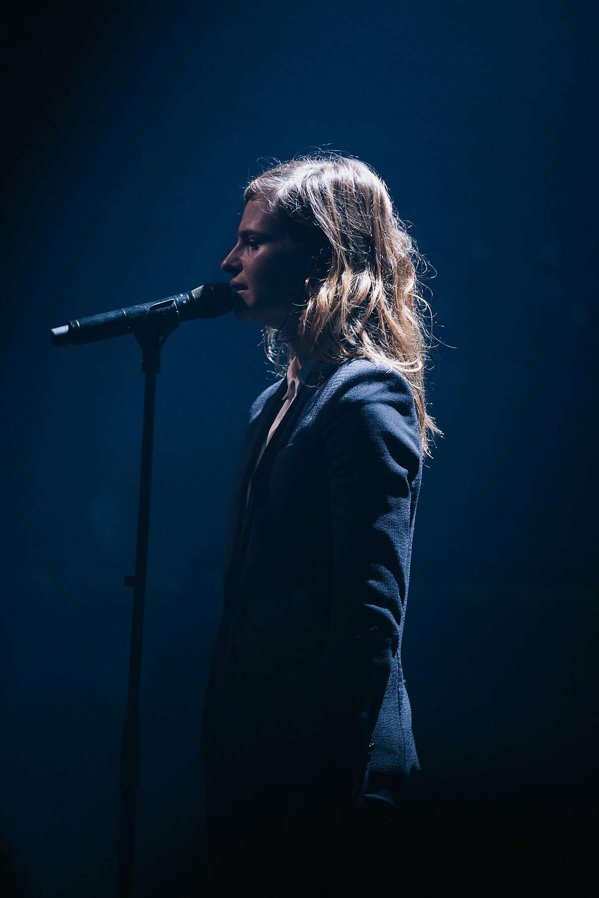 Christine and the Queens is performing at Treasure Island Music Festival.