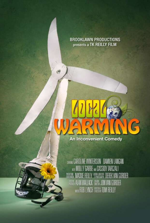 """The movie poster for """"Local Warming,"""" which was shot on location in Fairfield and Bridgeport. Photo: Contributed Photo / Fairfield Citizen"""