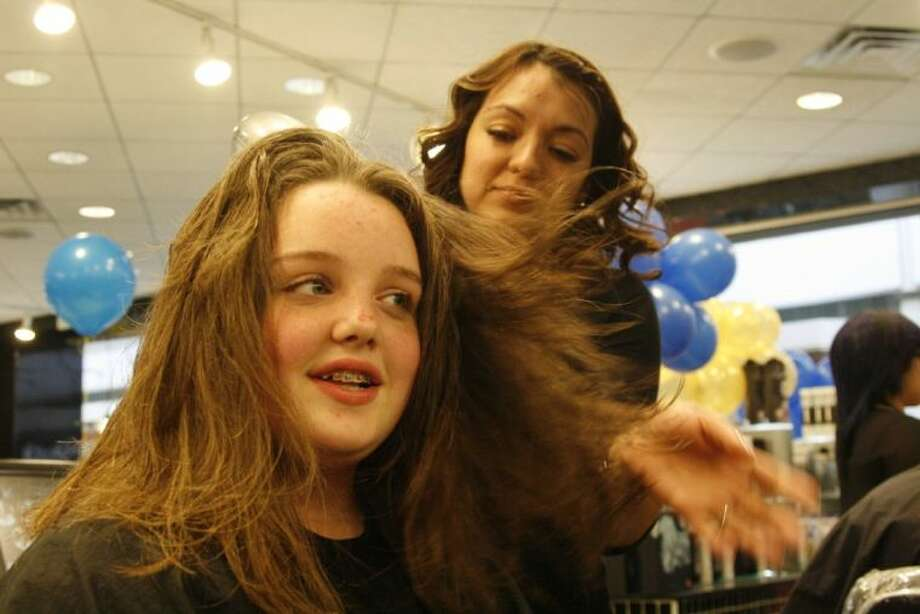 Teen Cuts Hair For Locks Of Love Before She Undergoes Her Own
