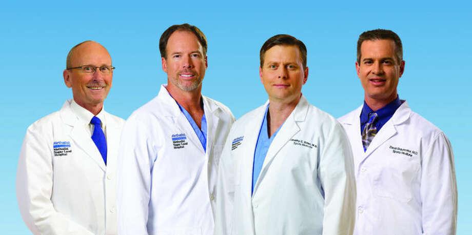 Drs. Kenneth Renney, Mark Maffet, Timothy Sitter and David Braunreiter