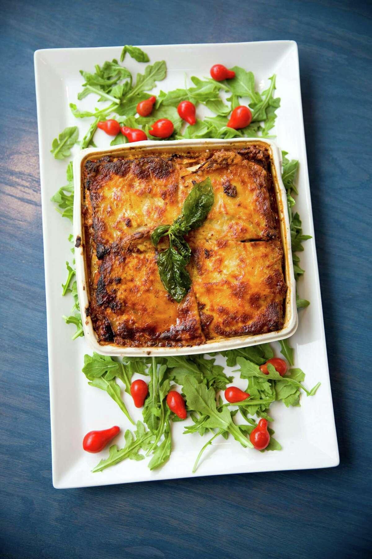 Don't feel like cooking at home? Grab a good lasagna at Cafe Dijon and heat it up at home.