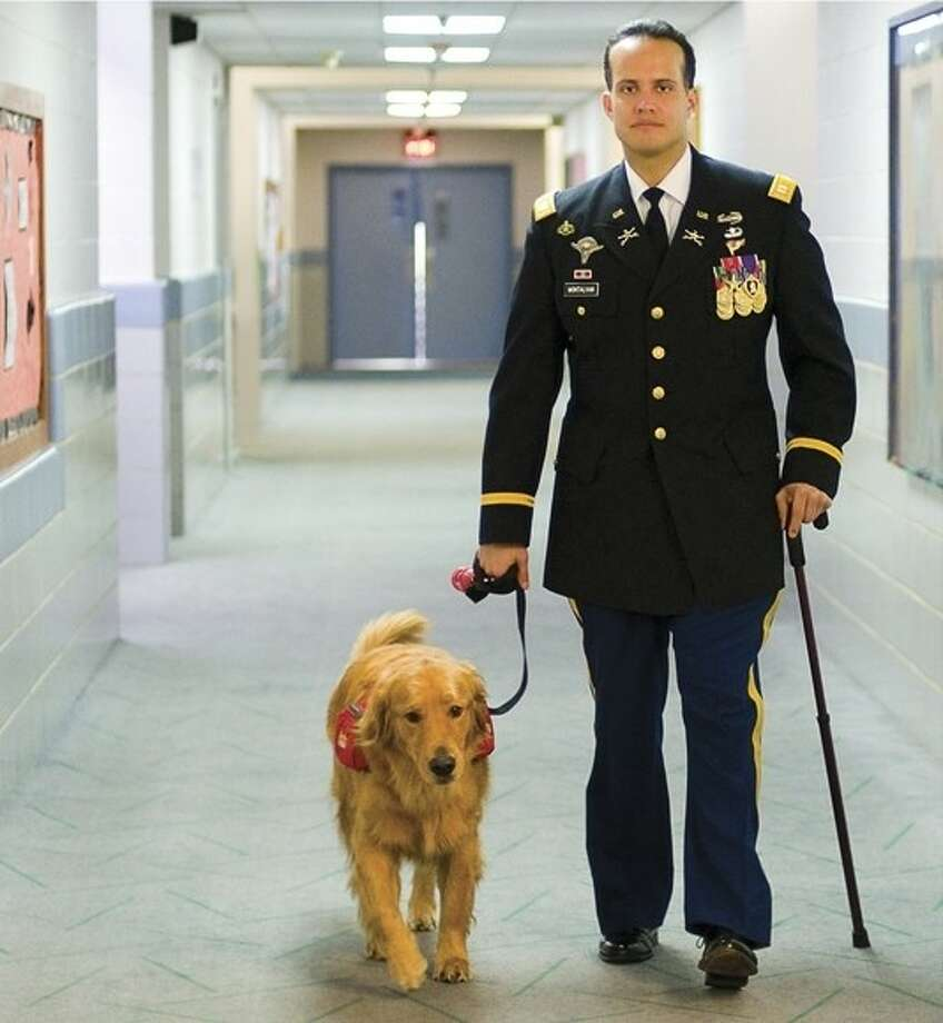 Dog Soldier Help Each Other Heal In Until Tuesday Houston Chronicle