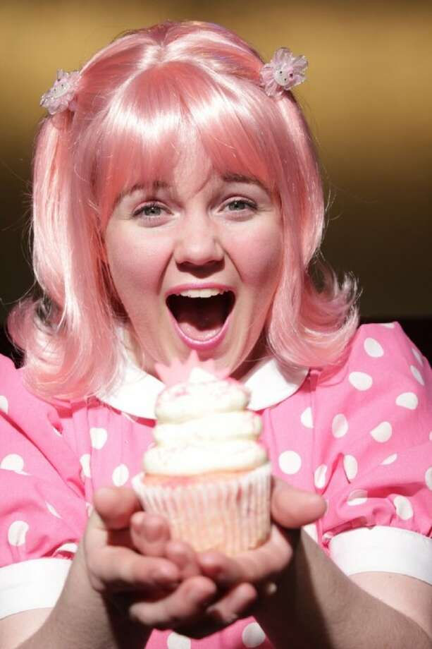 Pictured is Ashley Johnson as Pinkalicious. (Photo by RicOrnelProductions.com, submitted by Main Street Theater)