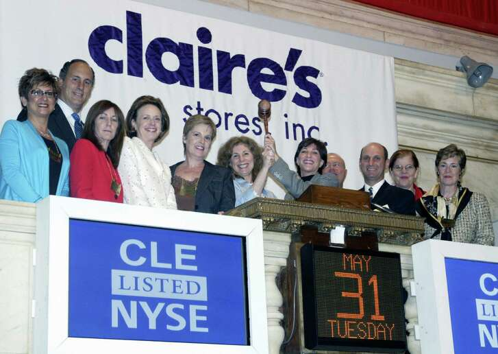 Times were good for Claire's Stores in 2005 when representatives of the chain helped ring the closing bell at the New York Stock Exchange.
