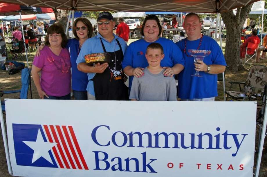 Community Bank of Texas took top honors for Best Chili in Tomball and Best Margarita in Tomball during the recent Memorial Day Weekend Chili Challenge presented by HEB.