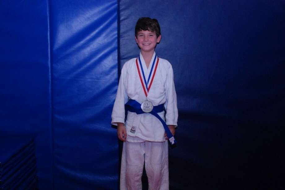 SUBMITTED PHOTO: Harry Swales took second place in a Judo Tournament last weekend in Dallas.