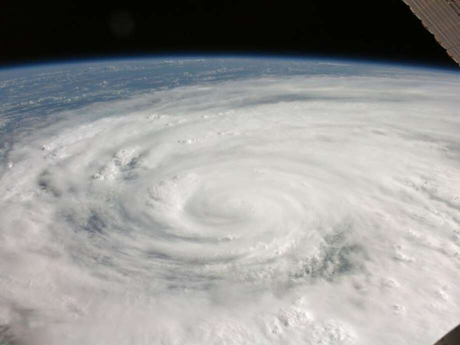 Hurricane Ike in 2008, as viewed from NASA observation, was a Category 3 storm.