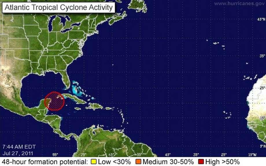 Forecasters watching first tropical storm threat of the season