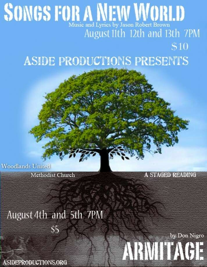 "Aside Productions offers ""Armitage"" Aug. 4-5."