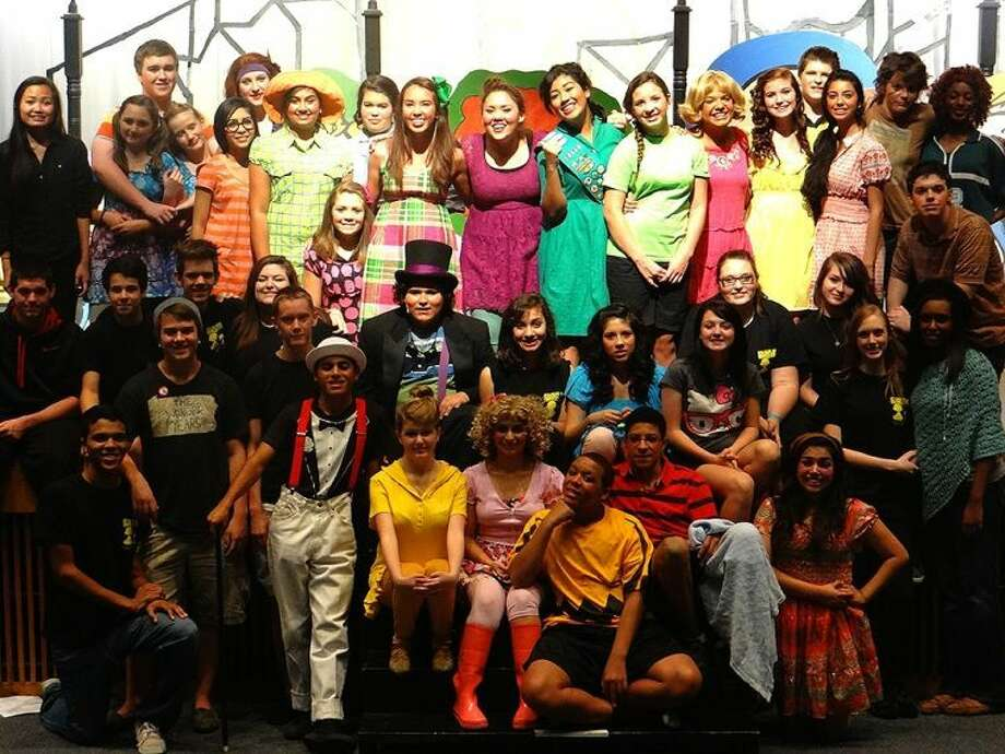 """The Cypress Falls theatre program, pictured from its fall musical, """"You're a Good Man, Charlie Brown,"""" is seeking one of five grand-prize awards in the SMASH Make a Musical contest, which would earn the program a $3,000 gift card to Lowe's used to improve the school's performance space. Photo: From CFISD"""