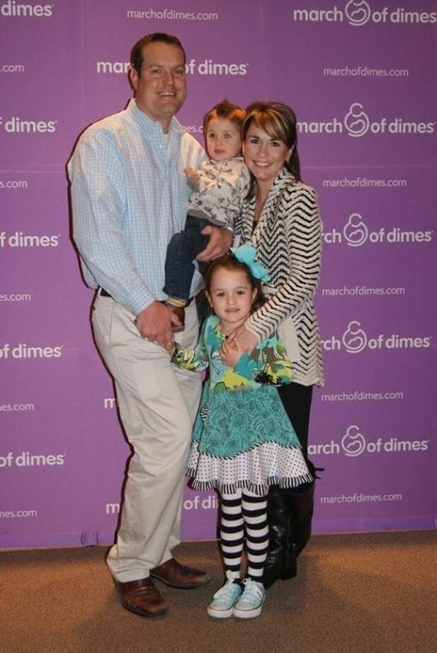 The Kahl family, Brandon, Angie, Ellie and Cullen, of Spring will serve as this year's Montgomery County Ambassador family for the March of Dimes. The Montgomery County March for Babies is set for April 27 in The Woodlands.