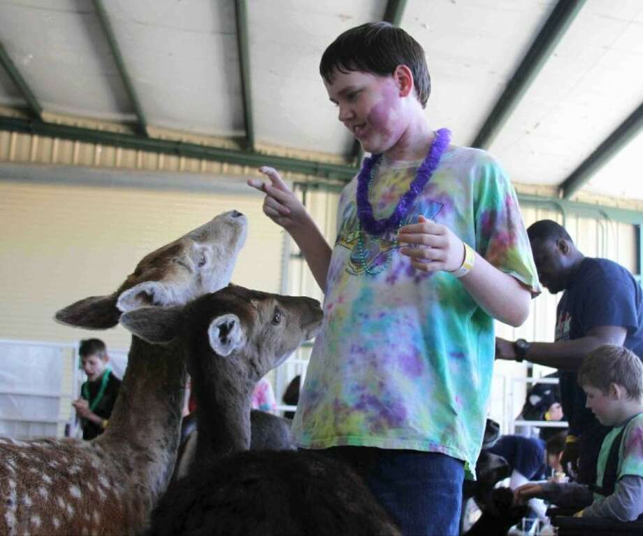 It was a special day at the fair for special education students and their families Friday.