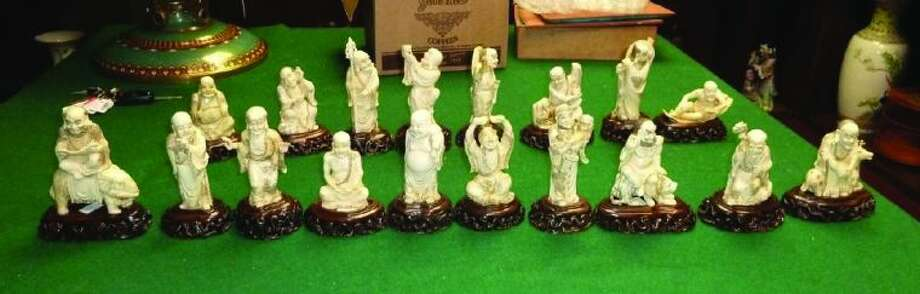 HSI special agents on Wednesday met with the auction house representatives and seized these statues. The ivory statues are now in the care and custody of the Harris County District Attorney's Office.