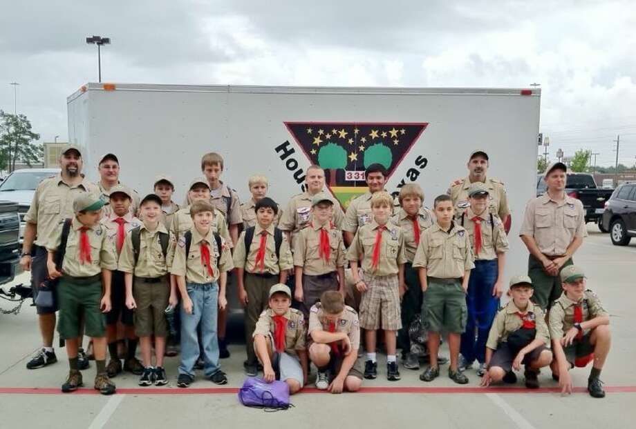 Troop 331 is raising money to build a garage for their new trailer.