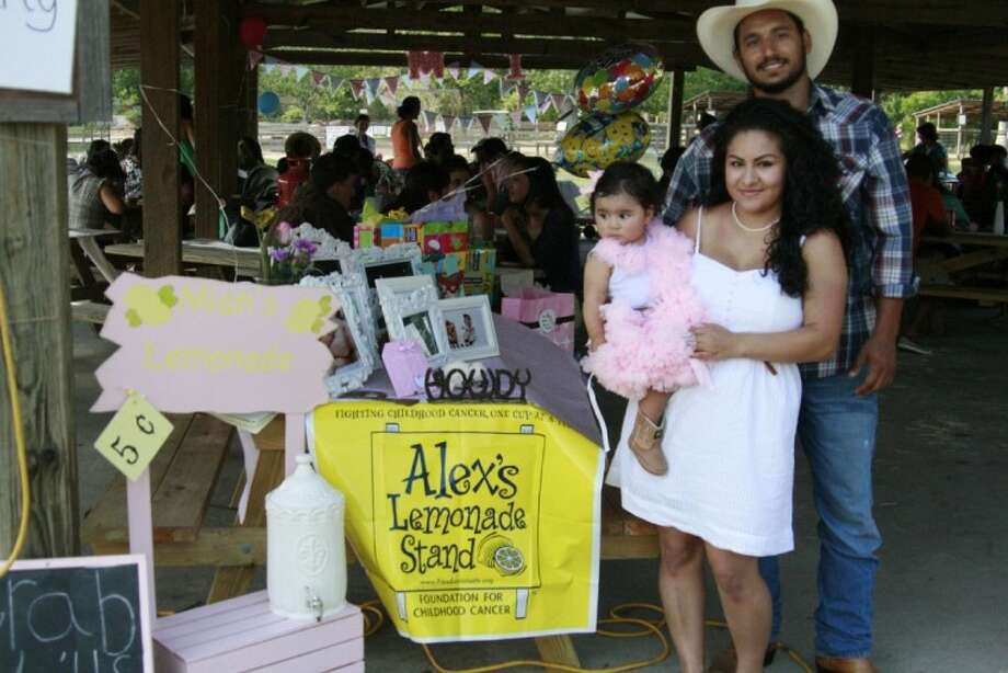 Miah's parents, Janet Zuniga and Michael Palomo, wanted to honor their daughter in a special way by requesting donations to Alex's Lemonade Stand Foundation instead of gifts at her first birthday party June 2.