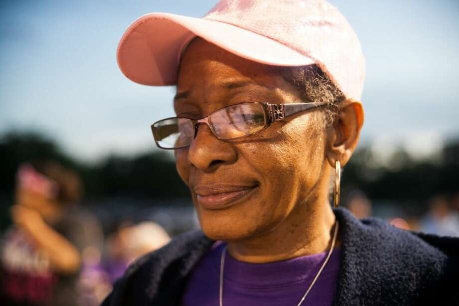 """Recent cancer survivor Elizabeth Harrison, speaks about how she got through the process. """"With strength you can accomplish anything. I always put God first,"""" said Harrison. Photo: AMANDA J.CAIN"""