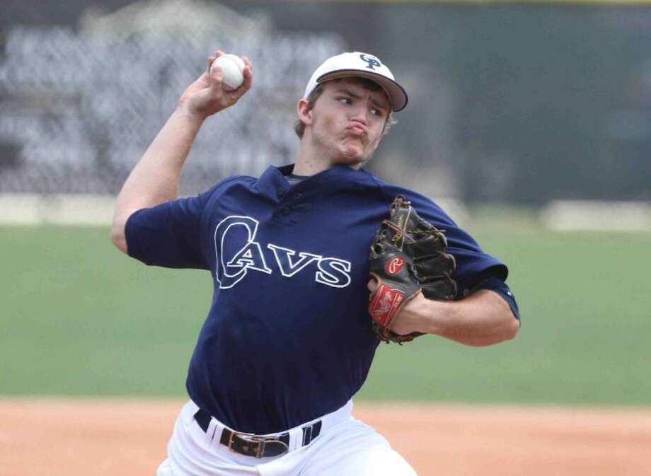David Ellingson played both pitcher and first base for College Park during his prep career. He was a three-year starter and all-district selection. Photo: Staff Photo By Jason Fochtman