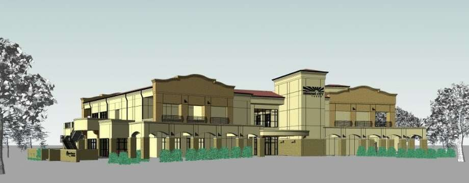 This is an artist's rendering of the new 25,000 square foot clubhouse at Quail Valley Golf Course.