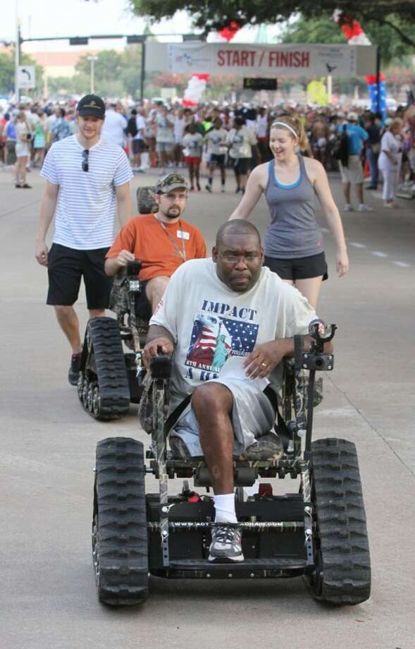 Sugar Land hosted the Impact a Hero 5K event last Saturday outside Mercer Stadium.