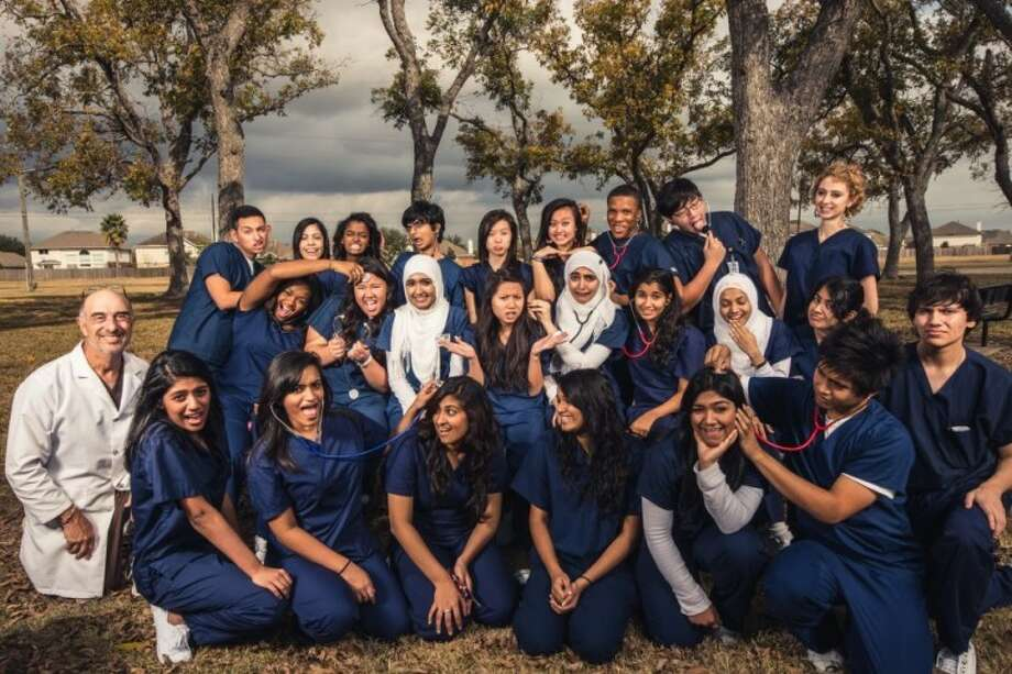 The Kempner High School health science class collaborates with the school's Medical Professionals of America to host a fast-growing blood drive that has earned the group several accolades. Photo: Submitted Photo