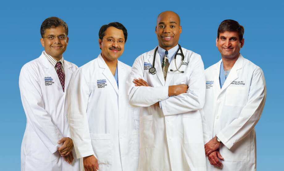 Panel of heart experts: Dr. Kesavan Shan, Diagnostic Cardiologist; Dr. Uttam Tripathy, Cardiovascular & Thoracic Surgeon; Dr. B. Keith Ellis, Interventional Cardiologist; Dr. Jasvinder Sidhu, Electrophysiologist Photo: Submitted Photo