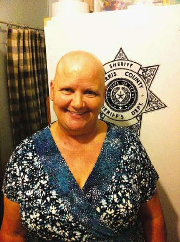 Stricken with a rare form of cancer, Virgie Hart Arthur, 60, fondly remembers her days as a Harris County Sheriff's deputy assigned to District 2 in Humble.