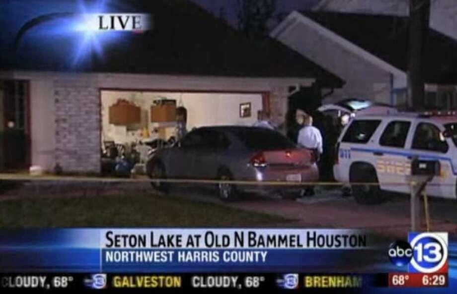 Masked gunman fatally shoots NW Harris County man