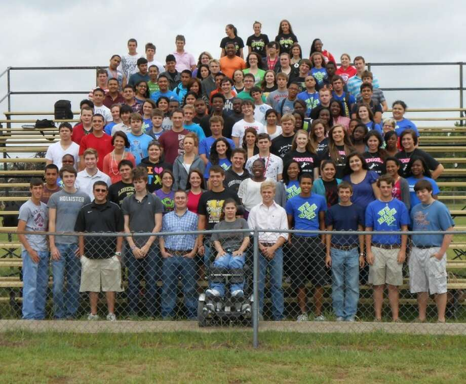 The 2012 graduating class of Liberty High School