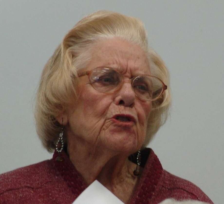 Nona Phillips, at a December 2012 meeting of the Our Neighborhood Association.