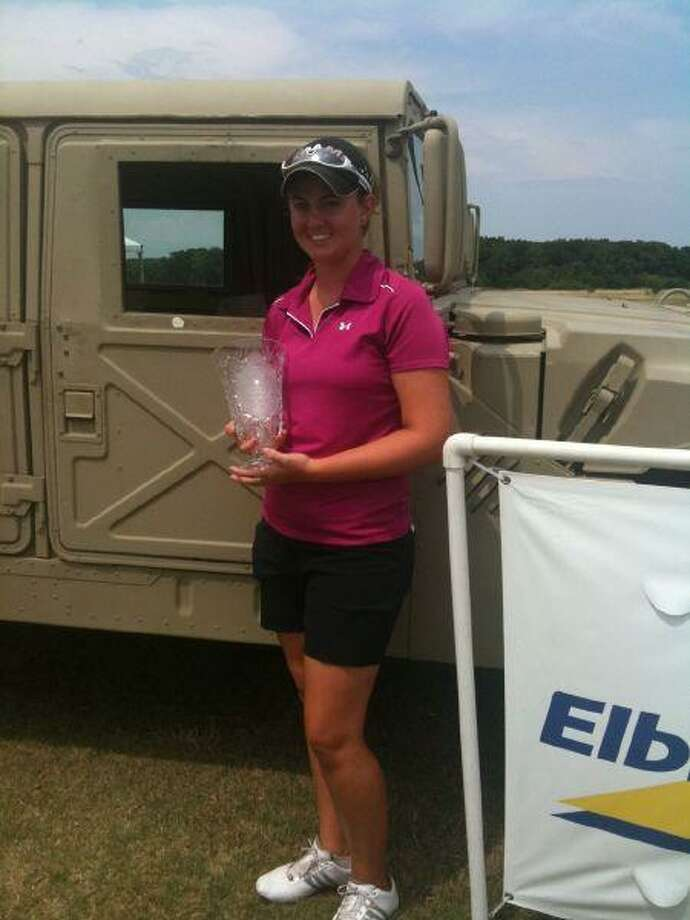 Courtney Ferguson won her first American Junior Golf Association championships last week in Fort Worth. The former Clear Lake High standout golfer who graduated in May, shot an even par 213 (65-73-75) to win the title. Her opening 65 was her career best and the lowest score on the AJGA tour this year. It's the biggest accomplishment of Ferguson's young career and makes her fully exempt on the AJGA tour. Ferguson finished 5th at the state UIL 5A championships in May.