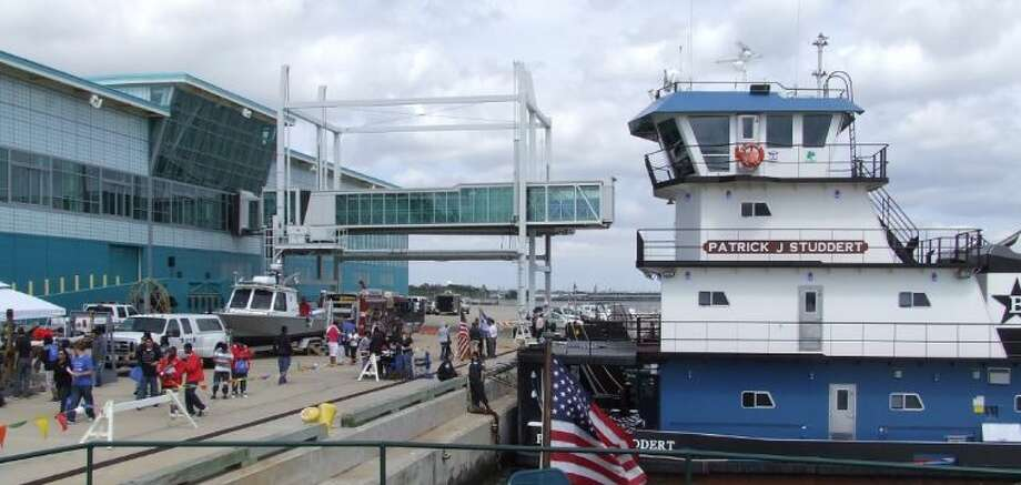 The Bayport Cruise Terminal hosted the Third Annual Maritime Youth Expo on Saturday (April 6).