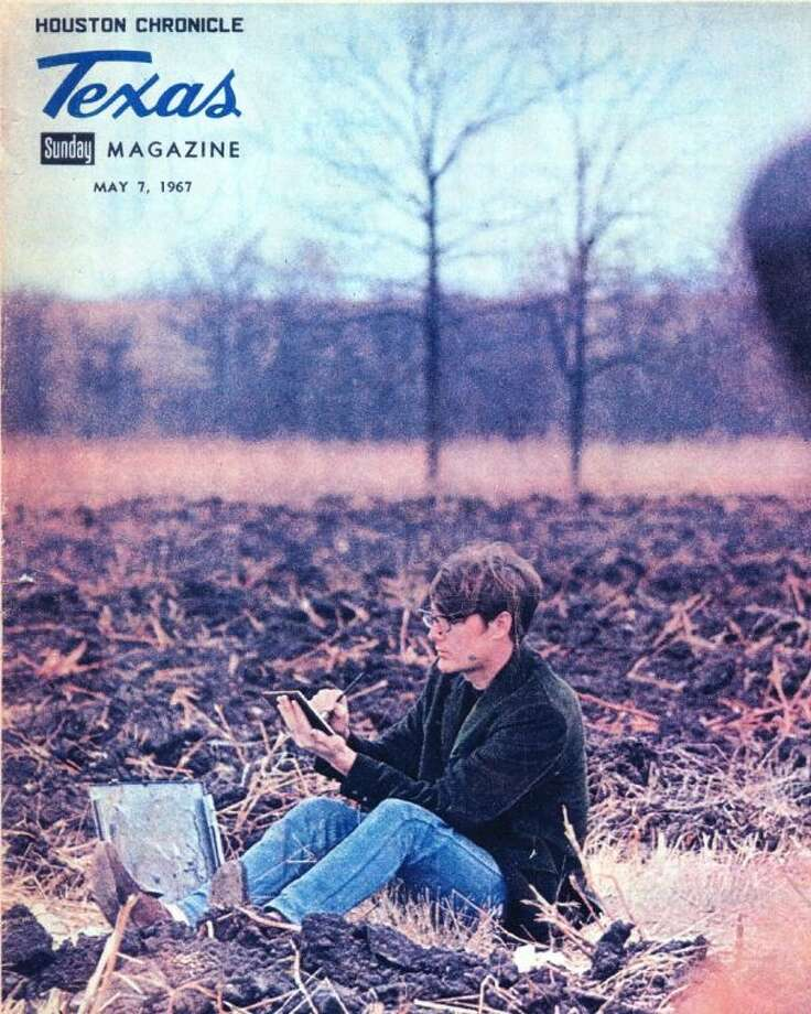 This magazine cover of a 1967 edition of Texas magazine features Cleveland High School graduate and artist Anthony Martin, who had works that were featured in many prominent museums and publications throughout the United States and much of Texas. Photo: Submitted Photo