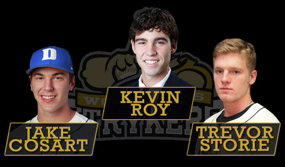 Jake Cosart, Kevin Roy and Trevor Storie will all be joining The Woodlands Strykers in 2013. Photo: Courtesy Image