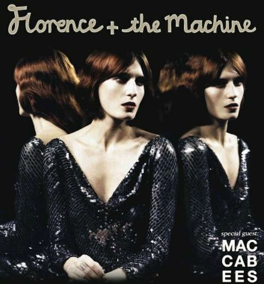 Florence and The Machine will be at the Pavilion on Sept. 29. Tickets are on sale June 8.