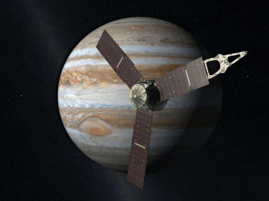 Artist's rendering of Juno courtesy of NASA