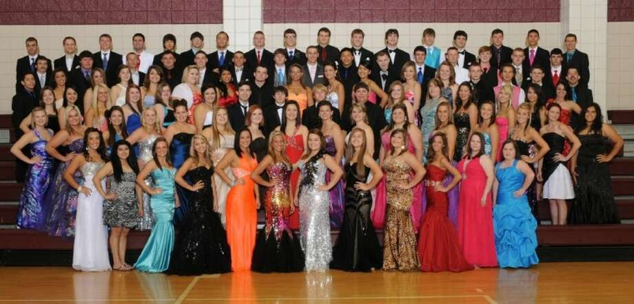 The Tarkington High School graduating class of 2012 Photo: Submitted Photo