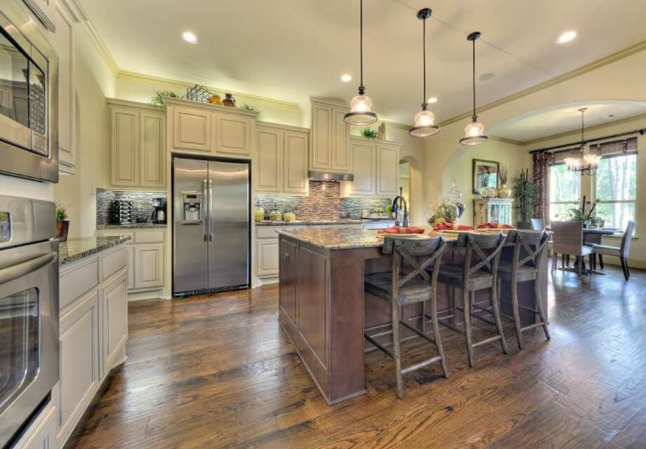 A Darling Homes model kitchen in Woodforest, a development in South Montgomery County. Photo: Submitted
