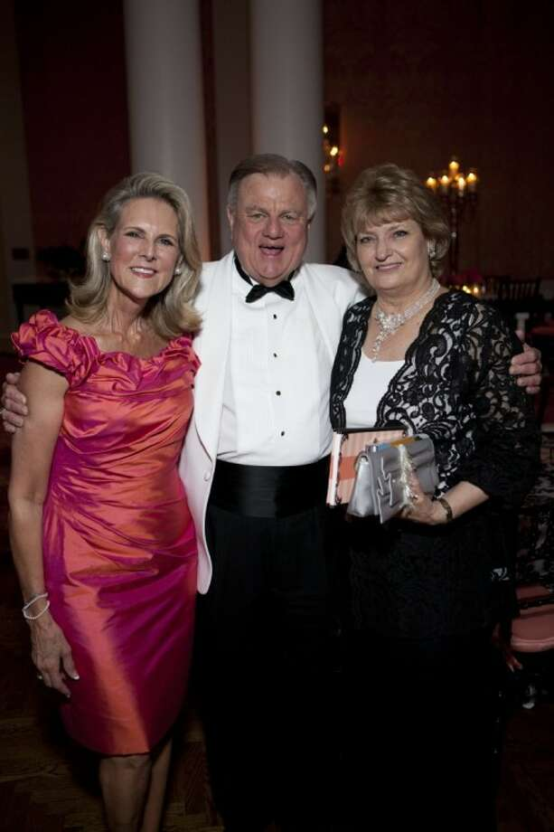 CancerForward honoree Nancy Moncrief, left, with Henry and Merry Jane Eversole. Photo: Submitted Photo