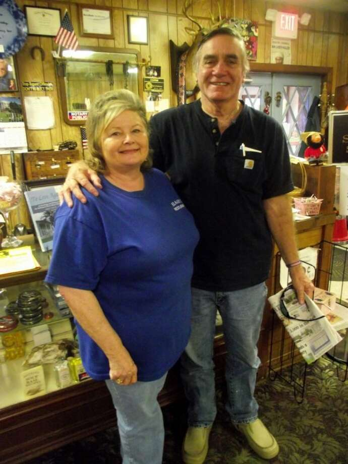 "Lou and Elaine Rogers, owners of ""Elaine's Restaurant and Catering,"" in Coldspring are retiring after 14 years. David ""Bubba"" Vinson and his wife Jillian, owners of ""Bubba's Lakeside Bar and Grill"" in Onalaska, will take over on August 29. The new name of the restaurant will be ""Bubba's Too."" Photo: CASSIE GREGORY"
