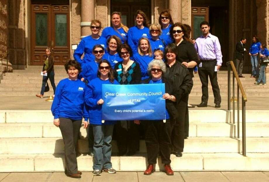 PTA Members attend Texas PTA Rally Day in Austin - Houston