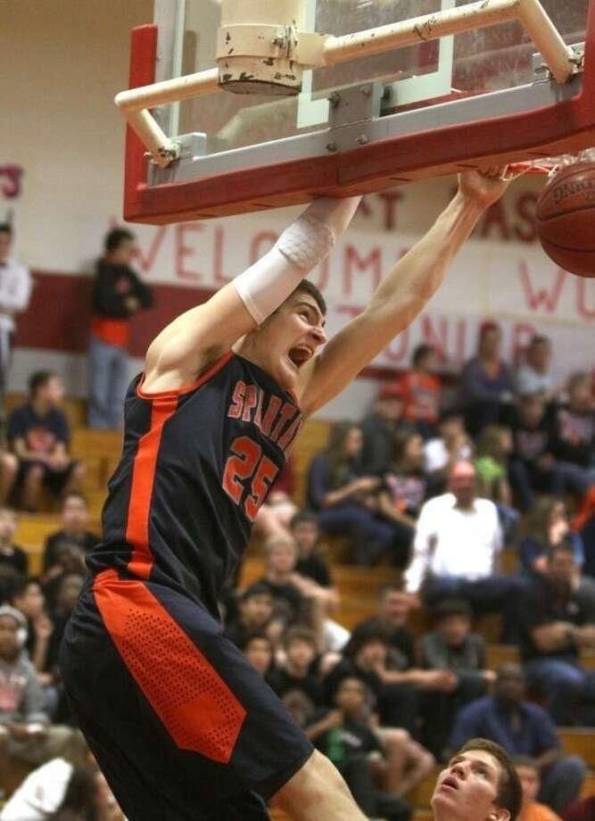 Seven Lakes' Ryan McClurg was voted District 19-5A MVP as well as a member of the TABC All-Region III-5A team. Visit www.hcnpics.com for more photos. Photo: Alan Warren